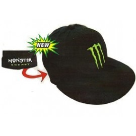 Cappello Rigido Monster Energy Groove Nero Visiera Piatta