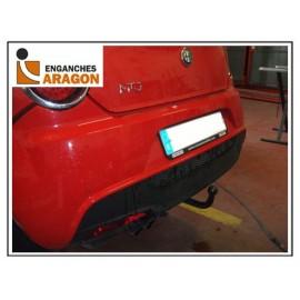 Gancio traino Fisso per Alfa Romeo Mito 2008 ► CABLAGGIO ESCLUSO