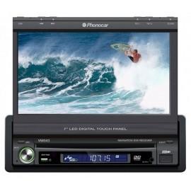 Phonocar Media Station pannello Led Digitale motorizzato 7'' Bluetooth GPS integrato