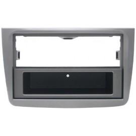 Phonocar Mascherina 2 ISO grigio metallizzato Opaco ALFA Mito 2011 ►