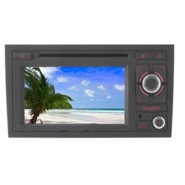 Phonocar Media Station TFT-LCD Navigation DVD Receiver panel 7'' Audi A4 2001 ► 2008