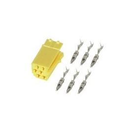 Connettore Mini-ISO Colore Giallo