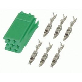 Connettore Mini-ISO Colore Verde