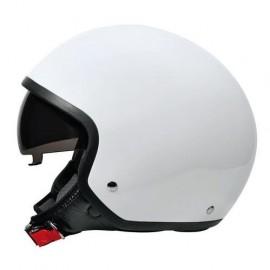 Brio casco demi-jet Bianco S