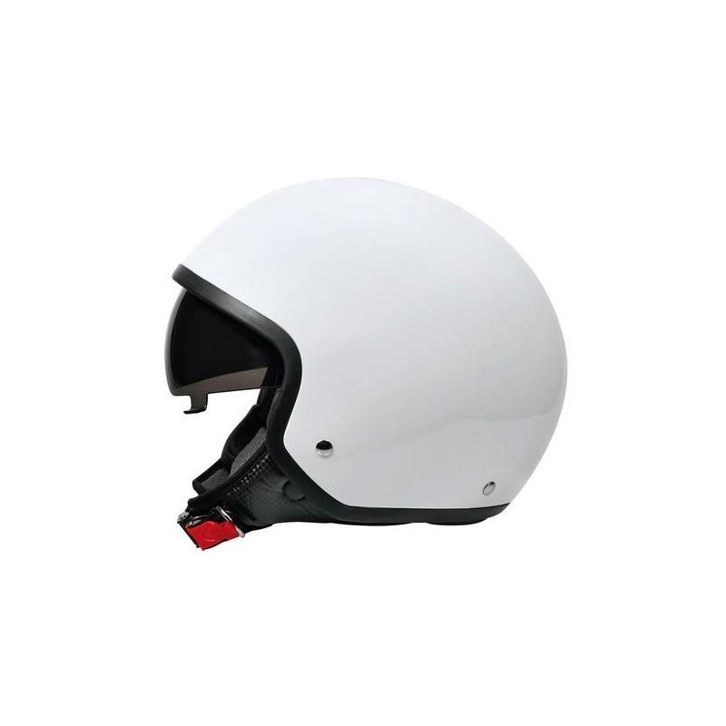 Brio casco demi-jet Bianco L