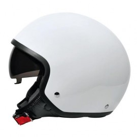Brio casco demi-jet Bianco XS