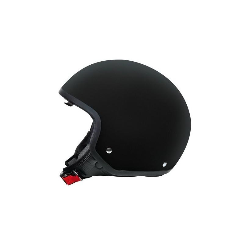 Brio casco demi-jet Nero M