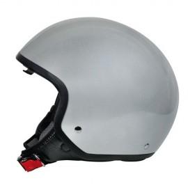 Brio casco demi-jet Argento M