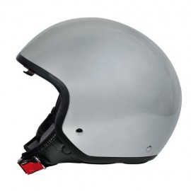Brio casco demi-jet Argento XL