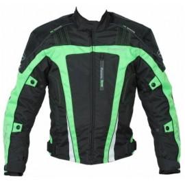 Hero Giacca Moto Uomo M Verde Nero