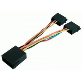 Cavo sdoppiatore per autoradio con connettore ISO multimarca
