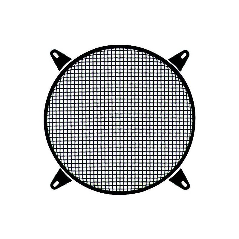 Griglia tonda per woofer Ø 300 mm in acciaio