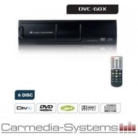 Caricatore 6 dischi DVD - DivX - MP3